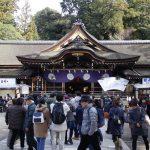2018年初詣!奈良の有名神社、 三輪明神大神神社にいってきた